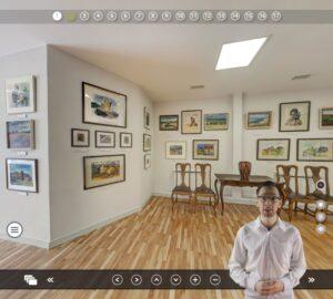 Virtualūs turai - Prano Domšaičio galerija
