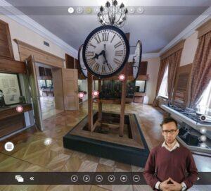 Virtualūs turai - Klaipėdos laikrodžių muziejus