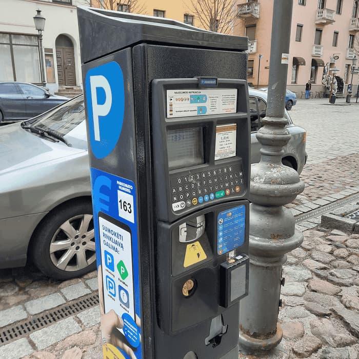 Parkavimas Klaipėdoje | Parkomatas